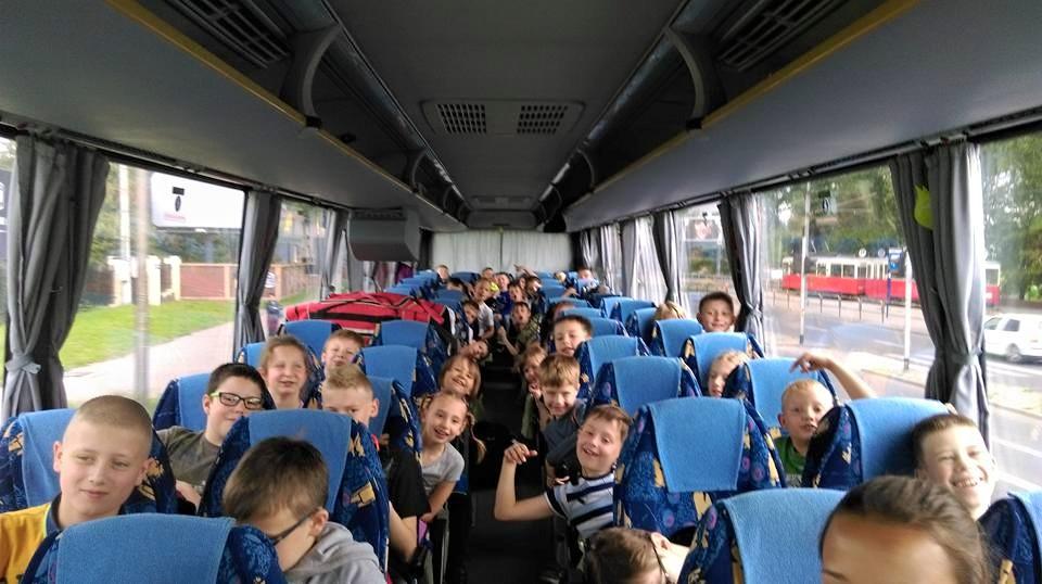 Pierwszy turnus obozu w Andrzejówce Lipiec 2020