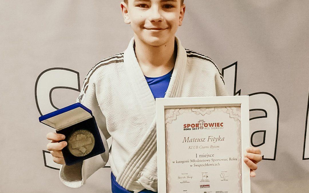 Mateusz Fityka Nagrodzony
